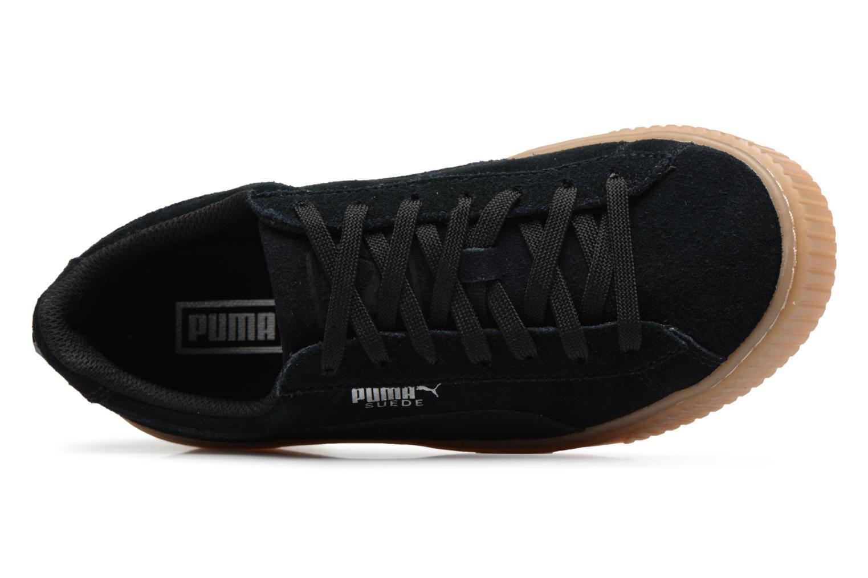 Sneakers Puma Suede Platform Jewel Zwart links