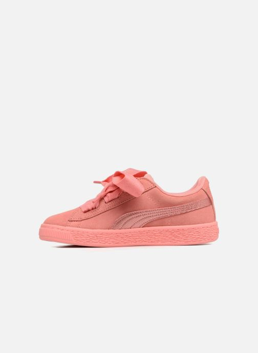 Trainers Puma Suede Heart SNK Pink front view