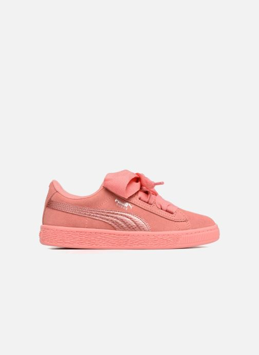 Trainers Puma Suede Heart SNK Pink back view