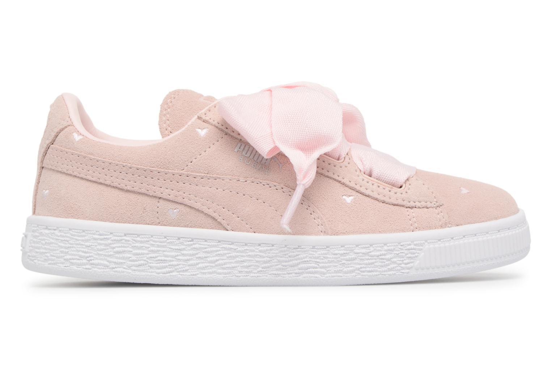 Sneakers Puma Suede Heart Valentine Rosa bild från baksidan