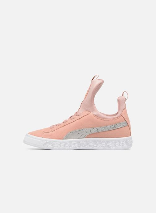 Baskets Puma Suede Fierce Rose vue face
