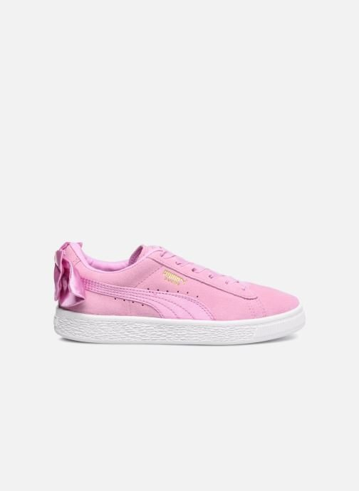Sneakers Puma Suede Bow Pink se bagfra