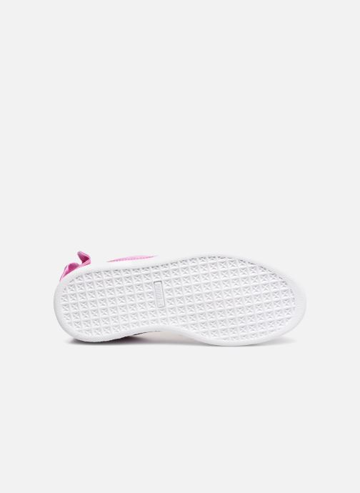 Sneakers Puma Suede Bow Pink se foroven