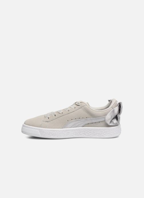 Baskets Puma Suede Bow Gris vue face