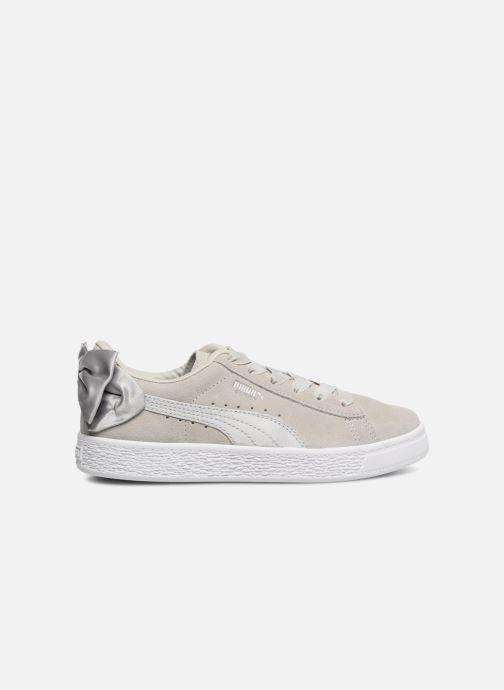 Sneakers Puma Suede Bow Grigio immagine posteriore