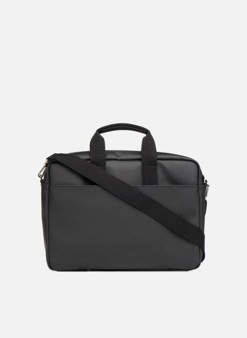 Laptoptaschen Lacoste MEN S CLASSIC Computer bag schwarz ansicht von vorne