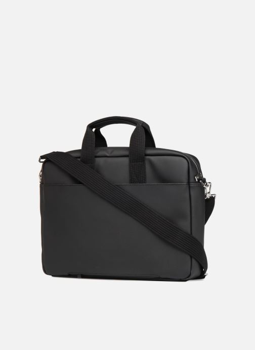 Laptop cases Lacoste MEN S CLASSIC Computer bag Black view from the right