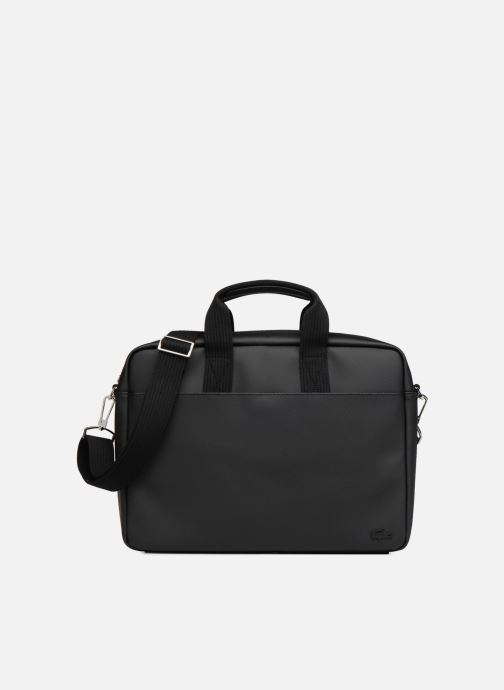 Computertassen Lacoste Men'S Classic Computer Bag Zwart detail