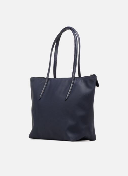 Sacs à main Lacoste S SHOPPING BAG Bleu vue droite