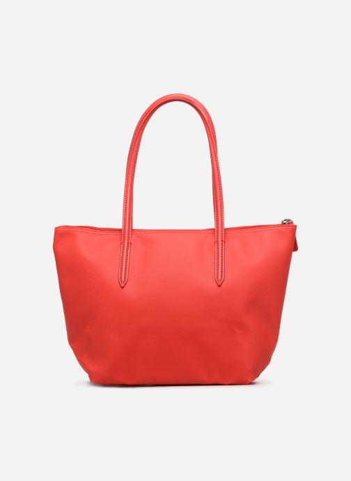 Sacs à main Lacoste S SHOPPING BAG Rouge vue face