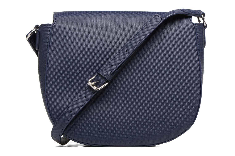 Handtassen Lacoste ROUND CROSSOVER BAG Blauw voorkant