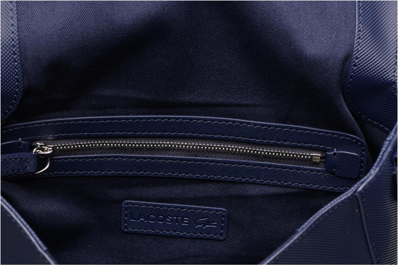 Sacs à main Lacoste ROUND CROSSOVER BAG Bleu vue derrière