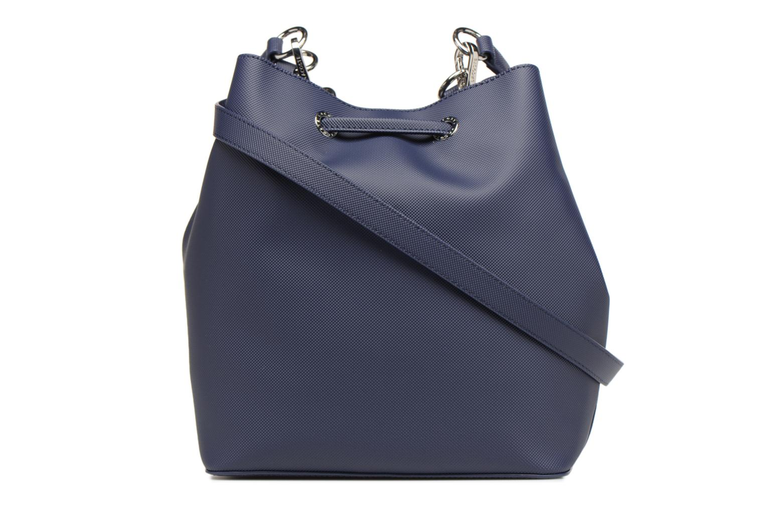 Sacs à main Lacoste BUCKET BAG Bleu vue face