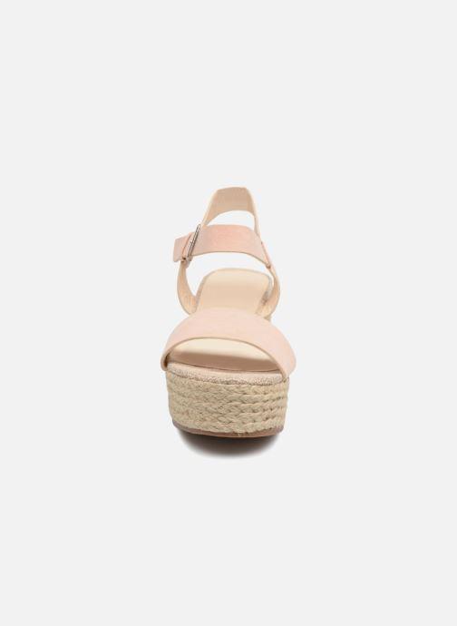 Alpargatas I Love Shoes Blira Beige vista del modelo