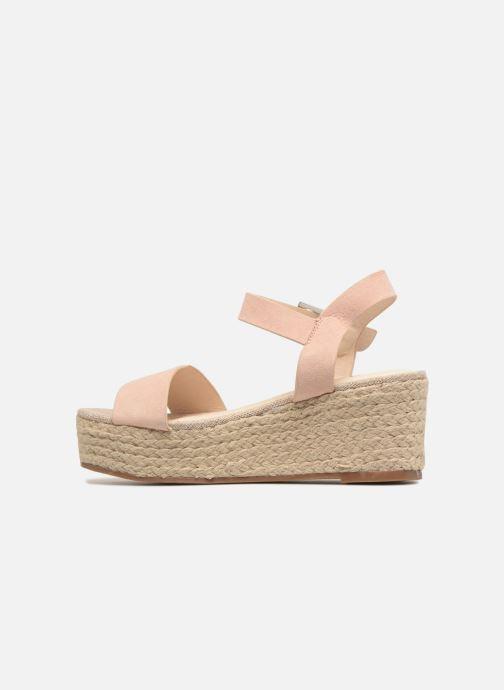 Scarpe di corda I Love Shoes Blira Beige immagine frontale