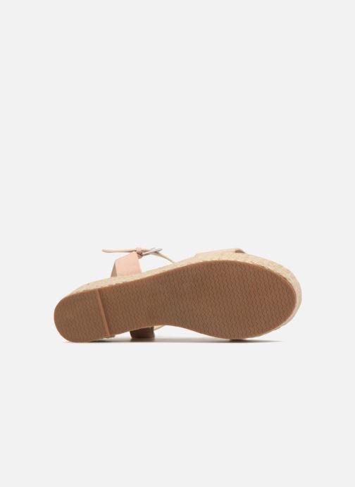 Alpargatas I Love Shoes Blira Beige vista de arriba