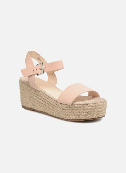 Espadrilles I Love Shoes Blira Beige detailed view/ Pair view