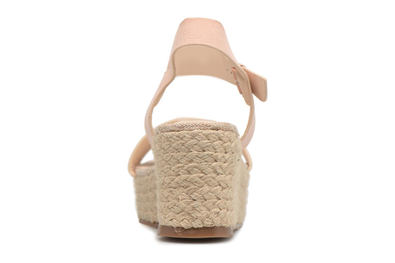Espadrilles I Love Shoes Blira Beige vue droite