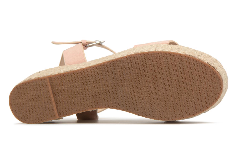 Espadrilles I Love Shoes Blira Beige vue haut