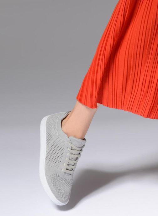 Baskets I Love Shoes Blooma Stretch Gris vue bas / vue portée sac