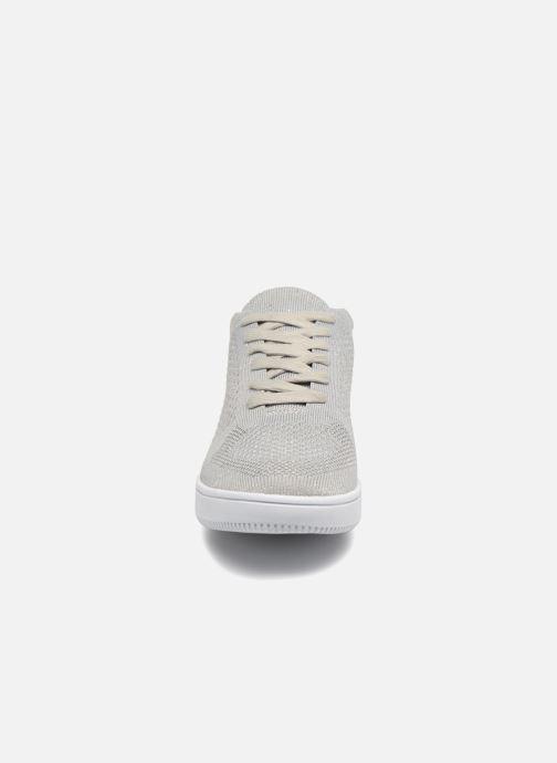 Sneaker I Love Shoes Blooma Stretch grau schuhe getragen