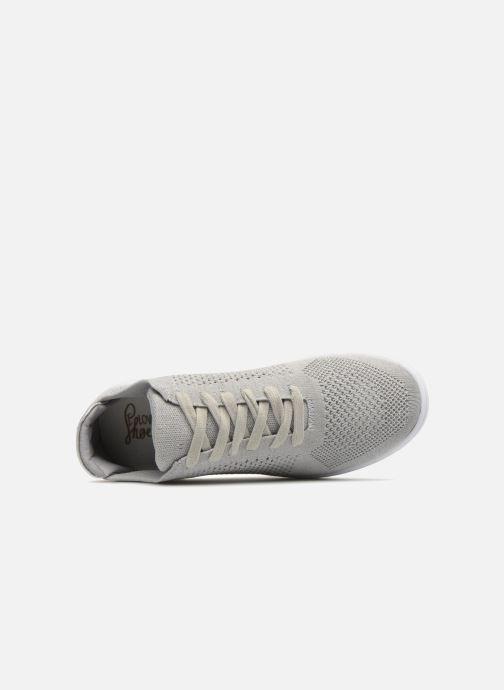 Deportivas I Love Shoes Blooma Stretch Gris vista lateral izquierda