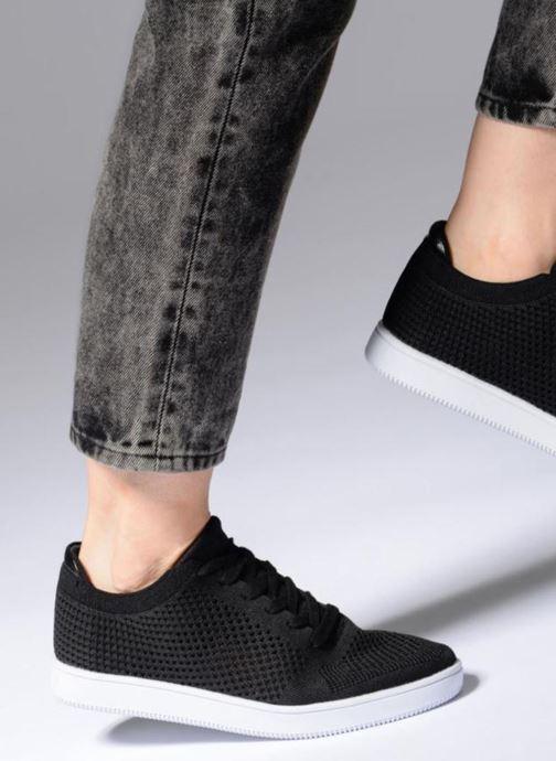 Baskets I Love Shoes Blooma Stretch Noir vue bas / vue portée sac