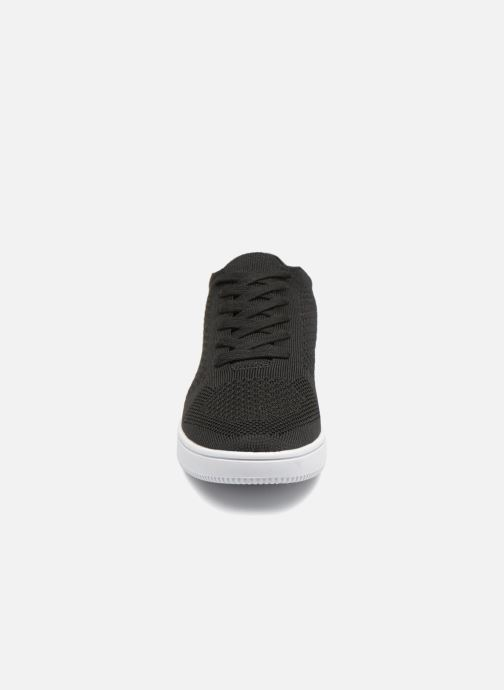 Sneakers I Love Shoes Blooma Stretch Nero modello indossato
