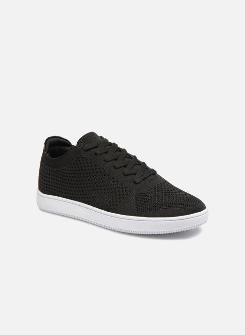 Deportivas I Love Shoes Blooma Stretch Negro vista de detalle / par