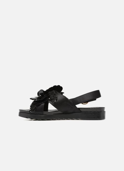 Sandales et nu-pieds I Love Shoes Blumi Noir vue face