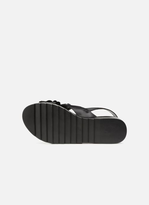 Sandales et nu-pieds I Love Shoes Blumi Noir vue haut