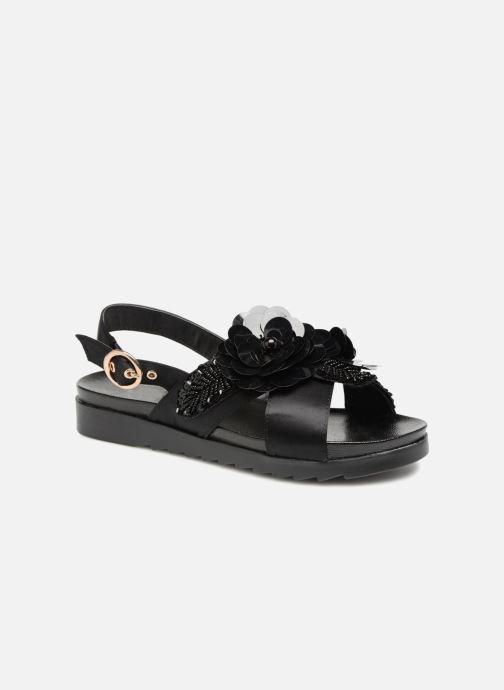 Sandales et nu-pieds I Love Shoes Blumi Noir vue détail/paire