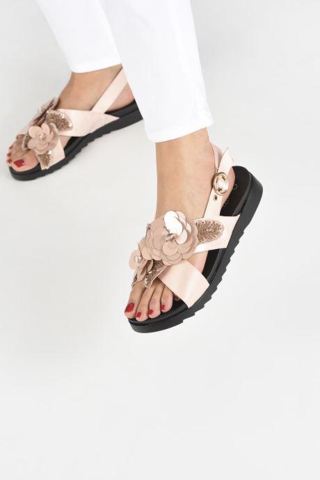 Sandales et nu-pieds I Love Shoes Blumi Rose vue bas / vue portée sac