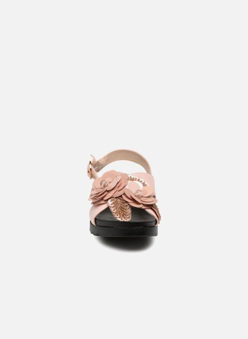 Sandales et nu-pieds I Love Shoes Blumi Rose vue portées chaussures