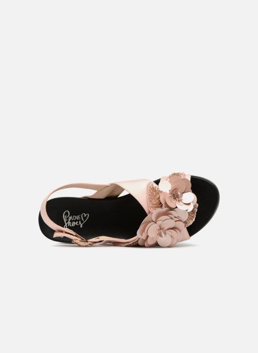 Sandales et nu-pieds I Love Shoes Blumi Rose vue gauche