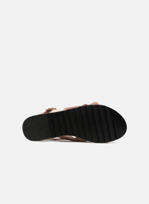 Sandales et nu-pieds I Love Shoes Blumi Rose vue haut