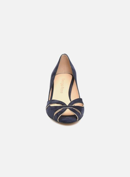 Escarpins Georgia Rose Encroisa Bleu vue portées chaussures