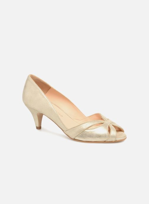 Pumps Georgia Rose Encroisa Goud en brons detail