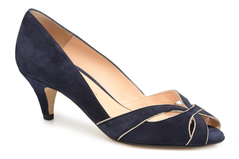 Escarpins Georgia Rose Encroisa Bleu vue détail/paire