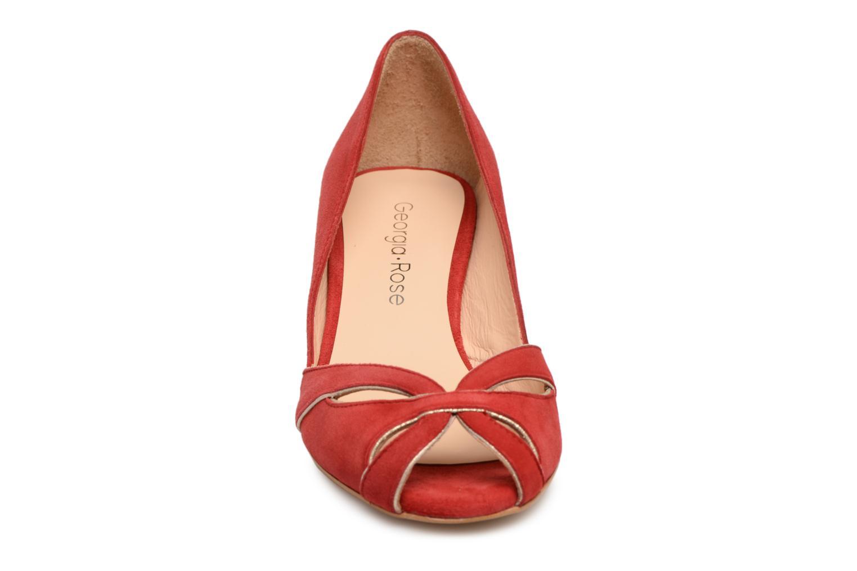 Escarpins Georgia Rose Encroisa Rouge vue portées chaussures