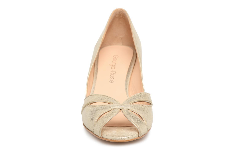 Escarpins Georgia Rose Encroisa Or et bronze vue portées chaussures