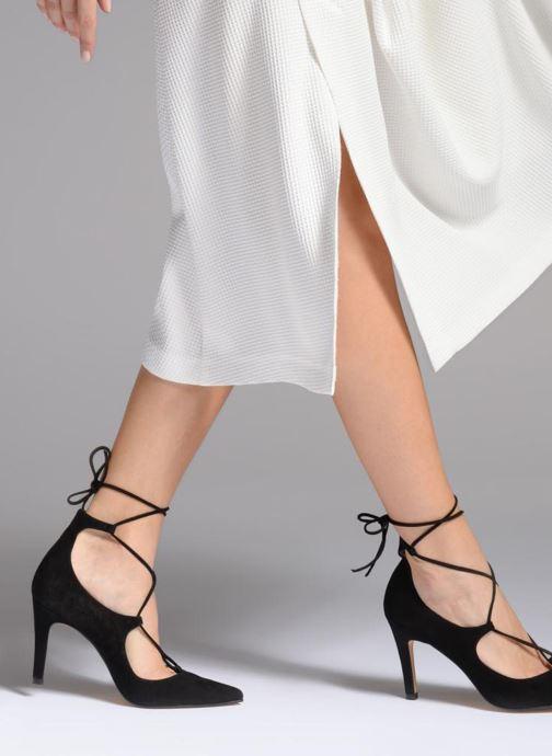 Zapatos de tacón Georgia Rose Elina Negro vista de abajo