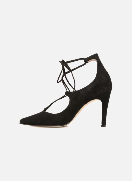Zapatos de tacón Georgia Rose Elina Negro vista de frente