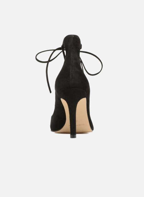 Zapatos de tacón Georgia Rose Elina Negro vista lateral derecha