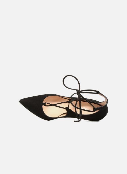 Zapatos de tacón Georgia Rose Elina Negro vista lateral izquierda