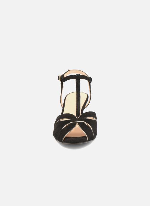 Sandales et nu-pieds Georgia Rose Etcera Noir vue portées chaussures