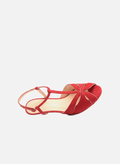 Sandales et nu-pieds Georgia Rose Etcera Rouge vue gauche