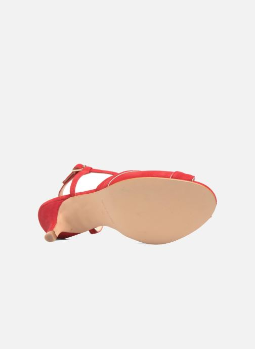 Sandales et nu-pieds Georgia Rose Etcera Rouge vue haut