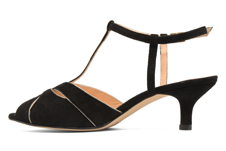 Sandales et nu-pieds Georgia Rose Etcera Noir vue face
