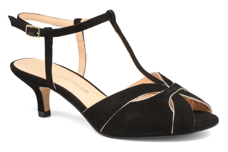 Sandales et nu-pieds Georgia Rose Etcera Noir vue détail/paire